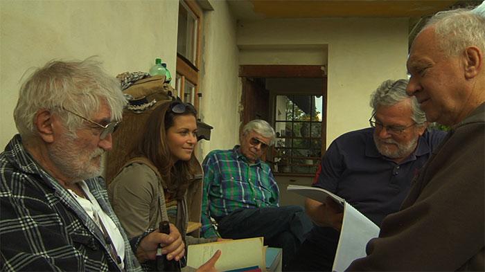 Pavel Landovský v poslednom dokumentárnom filme Hoteliér (2013)