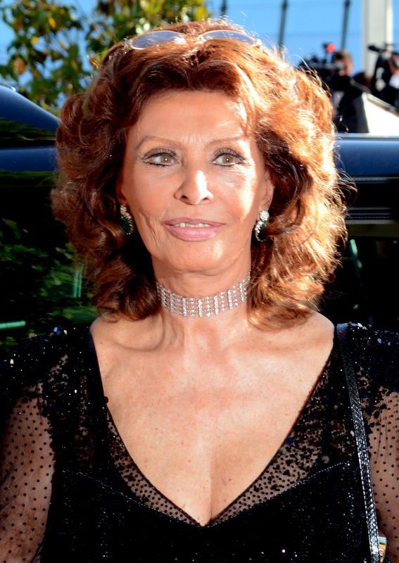 Sophia Loren v Cannes (2014)