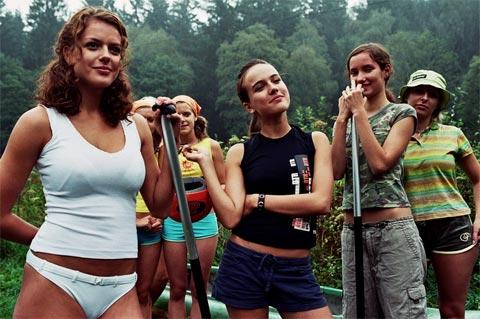 Nahé dievčatá dospievajúci