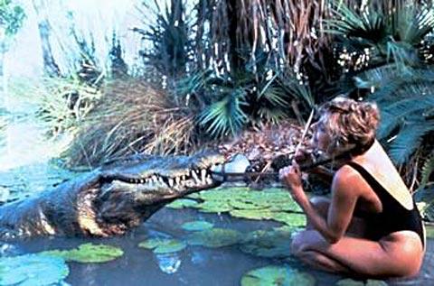 Známa scéna z filmu Krokodíl Dundee