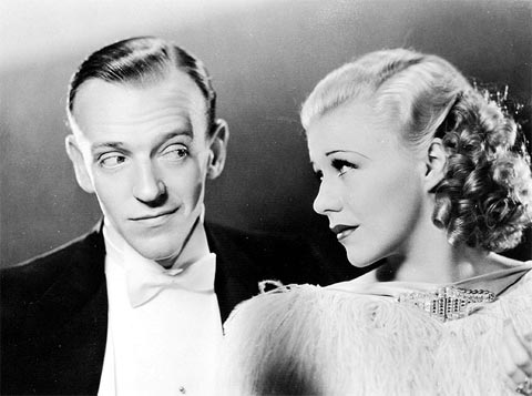 Fred Astaire a Ginger Rogersová